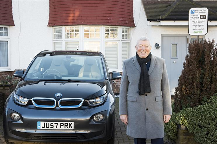 Former Home Secretary Alan Johnson has launched a JustPark campaign for election day