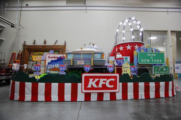 Move over, turkey: How KFC is promoting chicken in Macy's Thanksgiving Day Parade