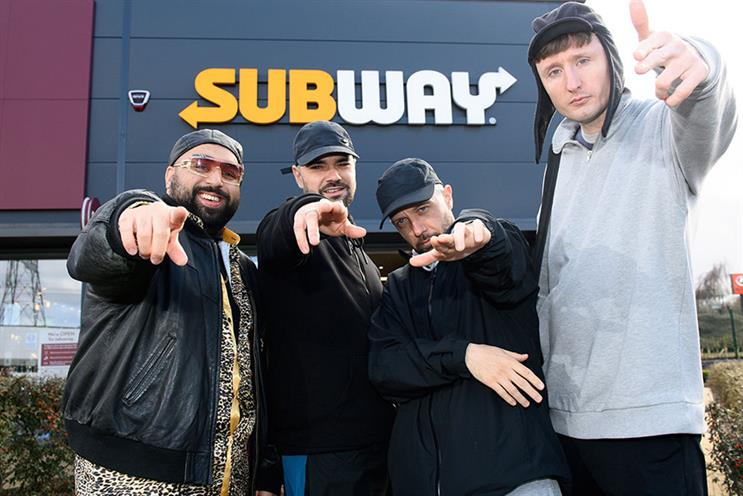 Subway: Kurupt FM shows will be aired in stores across UK and Ireland