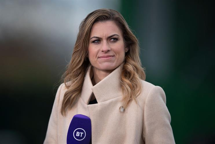 Sports journalist Karen Carney deleted her Twitter account after receiving abuse on the platform