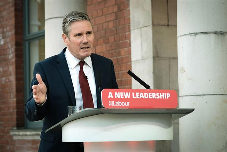 Today's speech to the virtual party conference was Keir Starmer's first since becoming Labour leader in April (© GettyImages)