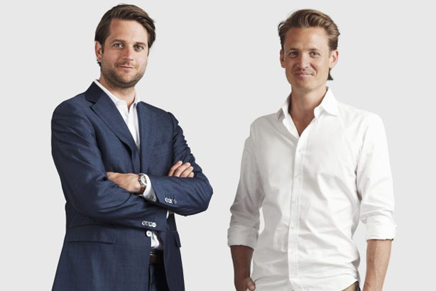 Klarna: CEO Sebastian Siemiatkowski (left) and deputy CEO Niklas Adalberth
