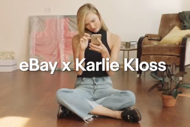 Karlie Kloss helps eBay unbox brand identity