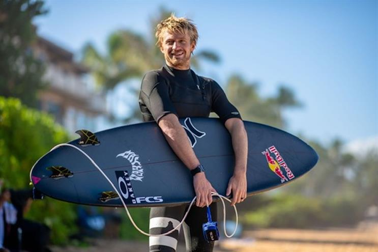 U.S. Olympic surfer Kolohe Andino.