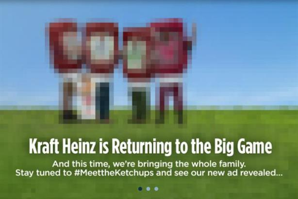 KraftHeinz is keeping its Super Bowl ad shrouded in mystery