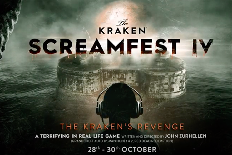 The Kraken partners with gaming visionary for Halloween experience