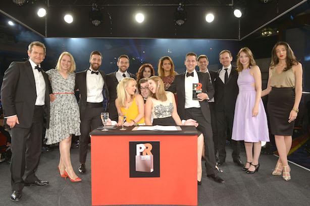 Watch: PRWeek UK Award Winners - 2015