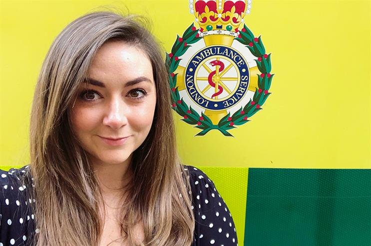 Lauren Smith is leaving London Ambulance Service to join North East London NHS Foundation Trust