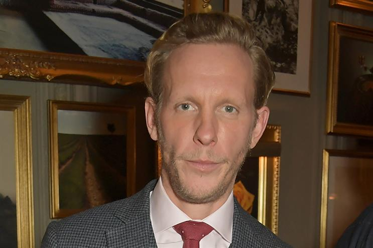 Laurence Fox (above) and the 'Reclaim' political group are being advised by Patrick Barrow (pic credit: Getty)