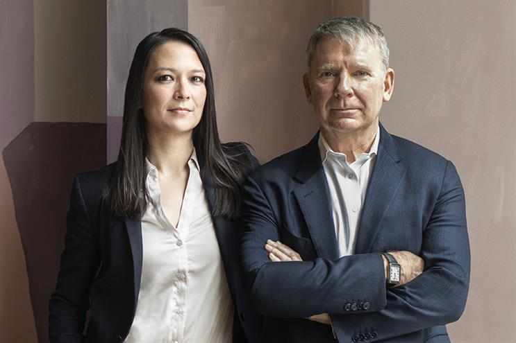 (L-R) Lexington managing director Emily Cook and founding partner Mike Craven