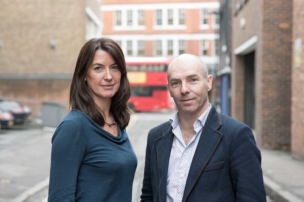 Eulogy leaders Elisabeth Field and Adrian Brady