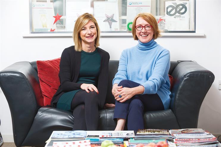 In the Limelight: Lisa Marshall (left) and Sandra Hobson