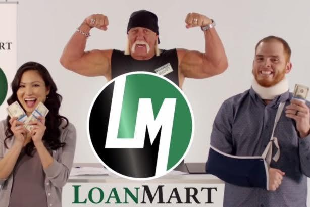 Despite racist comments, LoanMart gives Hulk Hogan a 'second chance' as spokesman