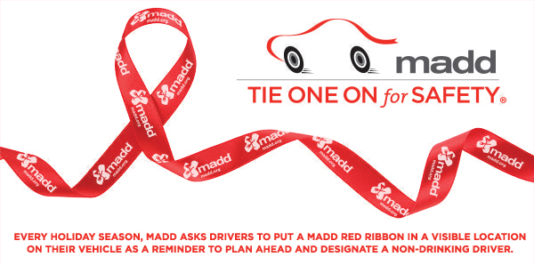 MADD, Nationwide accelerate designated driving effort for the holidays