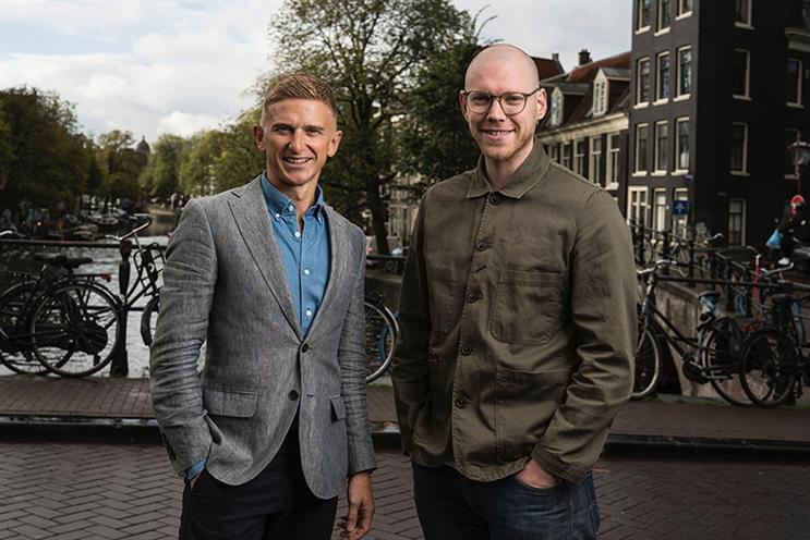 M&C Saatchi S&E Amsterdam managing partners Toan Ravenscroft and Jasper Hunter.