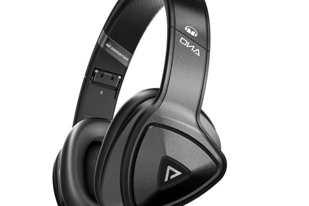 DNA headphones: Part of the Monster range