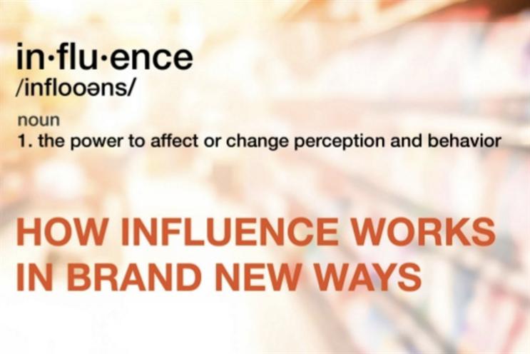 Master influence marketing