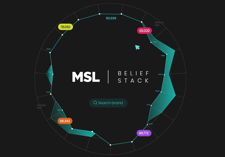 MSL UK launches 'belief' positioning and data tool