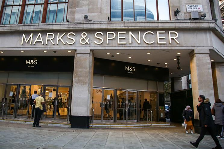 Marks & Spencer on Oxford Street, London (©GettyImages)