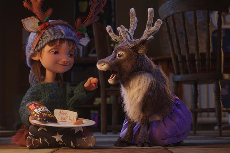 Watch: Archie the reindeer stars in McDonald's Christmas campaign