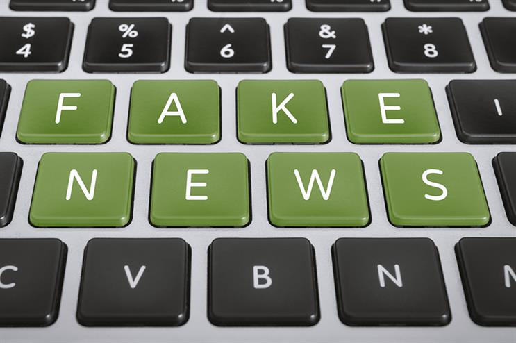 """""""Fake news"""" has increased almost 400% in its usage over the past several years – a main reason trust in media is so low, highlighted O'Leary during the roundtable. (photo courtesy of Getty Images)"""