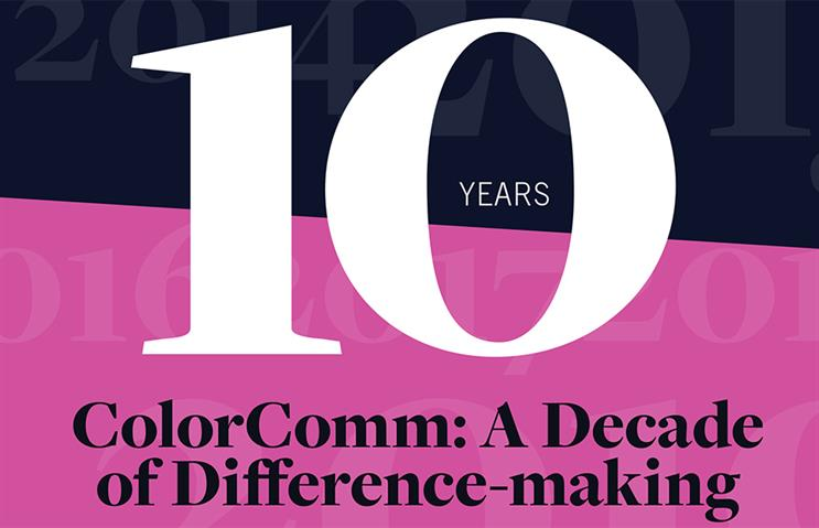 ColorComm: Ten years of trailblazing