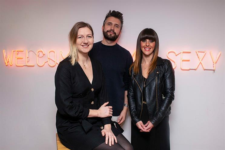 Manifest managing partner Ali Maynard James, chief executive Alex Myers and Manchester MD Bec Chelin.