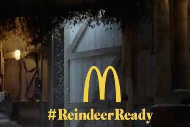 McDonald's revisits #ReindeerReady for Christmas campaign