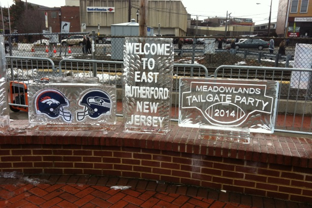 Super Bowl party shines light on East Rutherford
