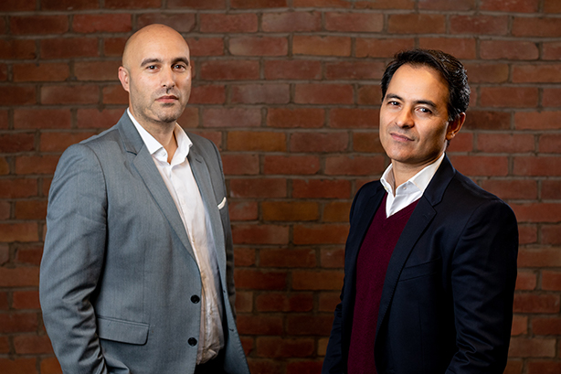 Way To Blue chief executive Adam Rubins and The Miroma Group chief executive Marc Boyan