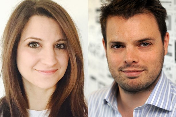 Katie Buckett and Alex Pearmain: The former Brands2Life duo will launch a new agency