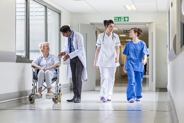 """The NHS and the Government are engaged in """"open warfare"""" over the future funding of the service"""