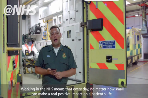 Watch: NHS England teams up with Twitter to tell patient and staff stories