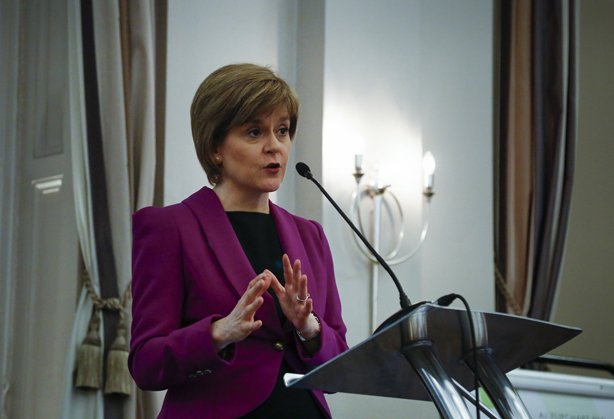 Nicola Sturgeon calls for a 'positive and inspiring' campaign to stop Brexit