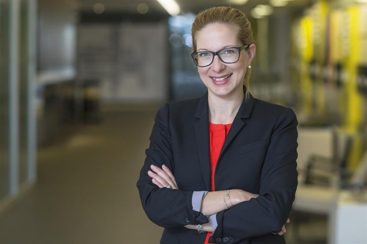 Nicole Vogrin, chief corporate affairs and communications officer