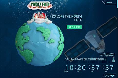 Christmas Comms Crackers #2: The NORAD Santa Tracker