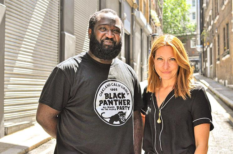 New Manipartners (L-R): Julian Obubo and Helen Kenny