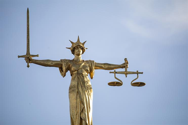 Lady Justice statue on the top of the Old Bailey, London (Photo: Getty Images)