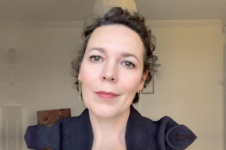 Anthony Nolan patron Olivia Coleman has fronted digital events for the charity during the pandemic