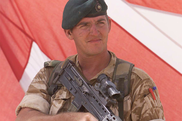 Marine Sgt Alexander Blackman, who had his murder sentence reduced to manslaughter by an appeal court last month (©Andrew Parsons/PA Wire/PA Images)