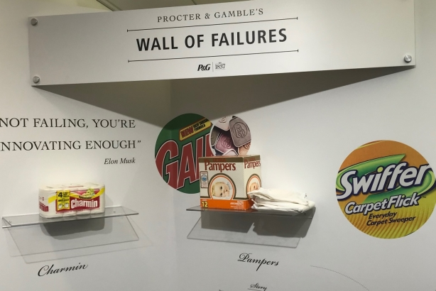 Why Procter & Gamble's HQ has a 'wall of failures'