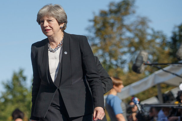 Prime Minister Theresa May: Launched strategy