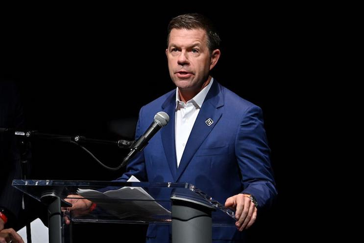 Former Teneo CEO Declan Kelly speaks at a Global Citizen event in 2019 in NYC. (Pic credit: Noam Galai/Getty Images for Global Citizen.)