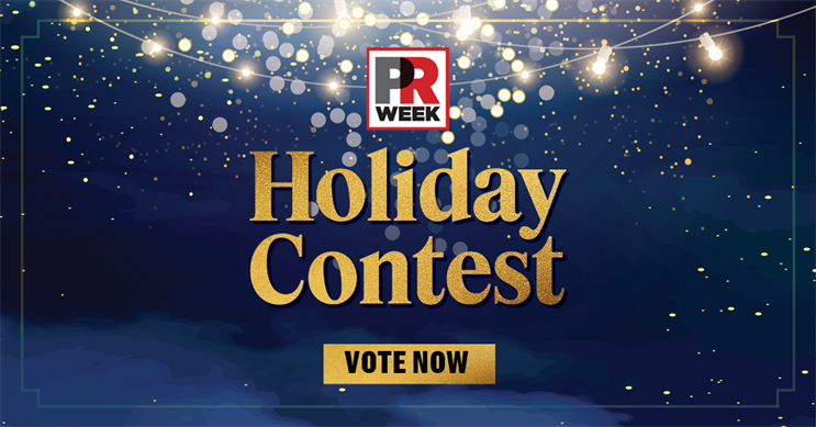 Voting is now open for the 2020 PRWeek Holiday Contest