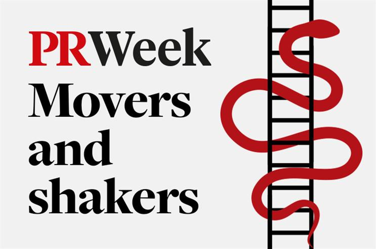 The week's movers and shakers in PR and comms