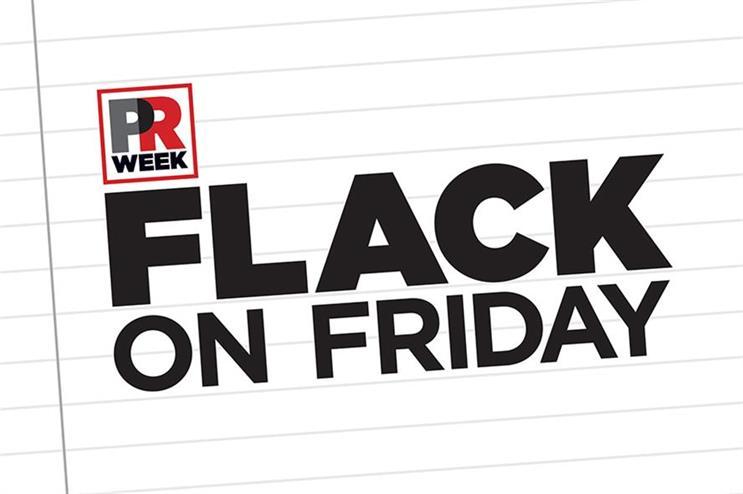 Flack on Friday: Gin o'clock, karma 'comedian', PR in a Car, trust vs truth