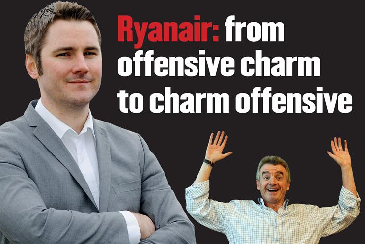 Ryanair: from offensive charm to charm offensive