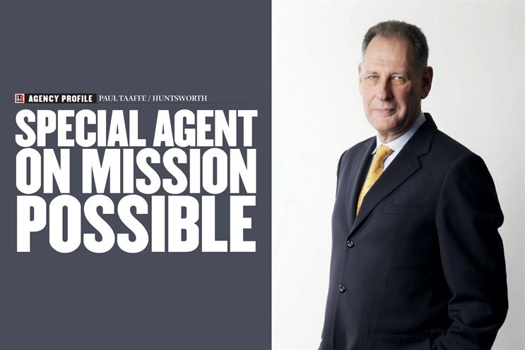 Huntsworth CEO Paul Taaffe: Special agent on mission possible