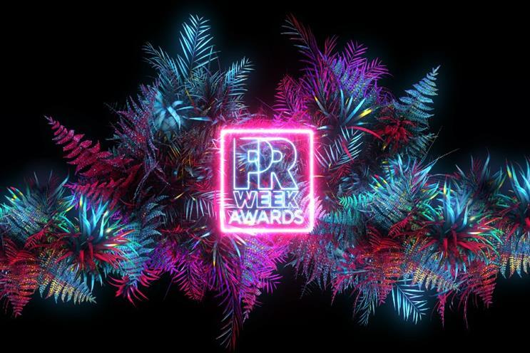 PRWeek UK Awards shortlist revealed; event moves to digital format