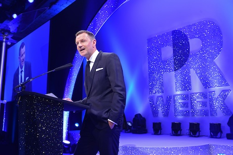 PRWeek Awards: Editor in chief Danny Rogers gets the night started